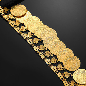 Image 3 - Metalen Munt Grote Allah Moslim Kettingen Voor Vrouwen Arabische Munten Luxe Huwelijksgeschenken Islam Midden oosten Afrikaanse Sieraden Nieuwe