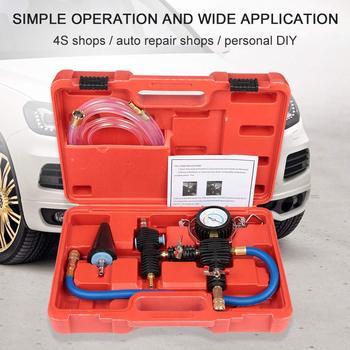 Próżniowe urządzenie do napełniania chłodziwa Auto Car chłodzenie chłodnicy przeciw zamarzaniu narzędzie zamienne zestaw System płynu chłodzącego wtryskiwacz przeciw zamarzaniu tanie i dobre opinie