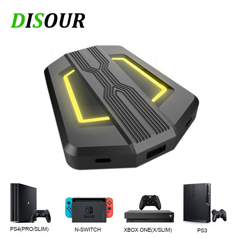 For Nintendo Switch Game Console Keyboard Mouse PC Converter For Lite/PS4/XBox One/PS3/XBox 360 Game Controller Adapter Set image