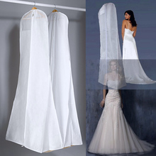 Очень большой защитный чехол для свадебного платья, защитный чехол для свадебного платья, пылезащитный чехол, сумка для хранения свадебног...