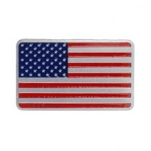 NoEnName_Null المعادن الأمريكية العلم الولايات المتحدة سيارة ملصق شعار شارة ل جيب Bmw فيات VW فورد