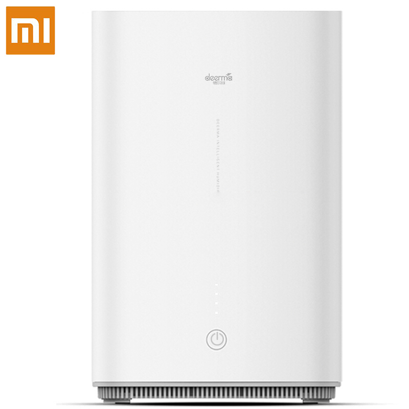 Xiaomi Air Humidifier LED Home Water Diffuser Mini Humidification Adjustable Fog Volume Family 4L Atomization Aroma Mist Maker|Humidifiers| |  - title=