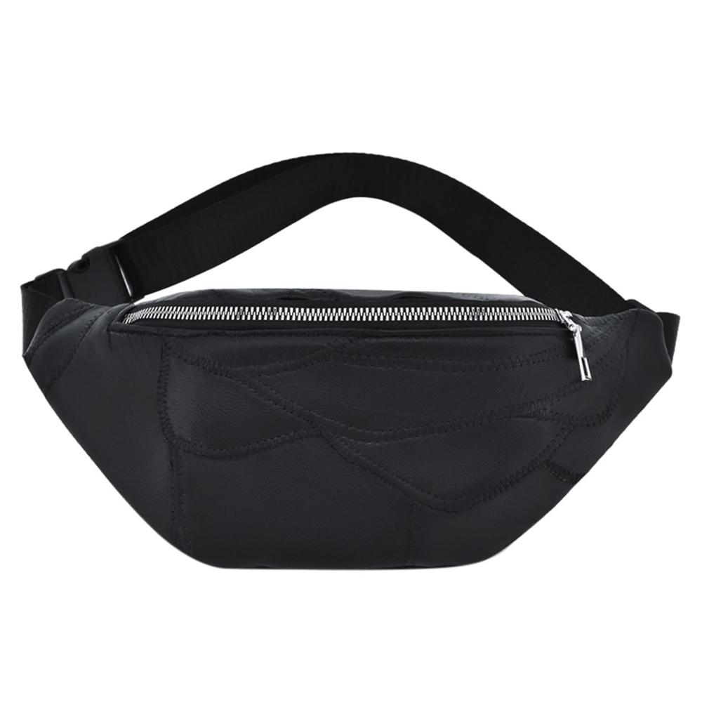 Women's Bag Waist Chest Phone Bag Messenger Solid Color Nylon Zipper Stylish Simple Wild Popular Solid Color Casual H1