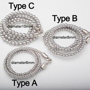 Outdoor Self defense Titanium Steel Bracelet Personal Protection Steel Ball Self-defense Tactical Waist Necklaces Car Pendants