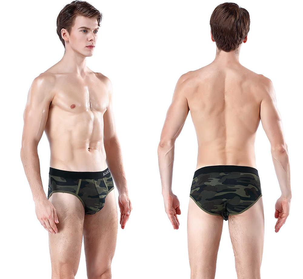 4Pcs 브랜드 망 섹시 속옷 남자 속옷 섹시한 남자 Jockstrap 게이 브리프 남자 착용 아래 비키니 슬립 코튼 브리프 Cueca