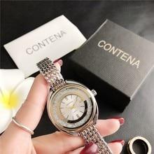 New Flowing Dial Diamond Shiny Ladies Fashion Watch