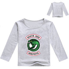 """2020 осенней одежды для мальчиков с изображением """"south"""