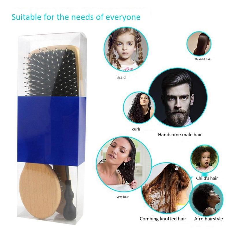 almofada perda de cabelo massagem escova de