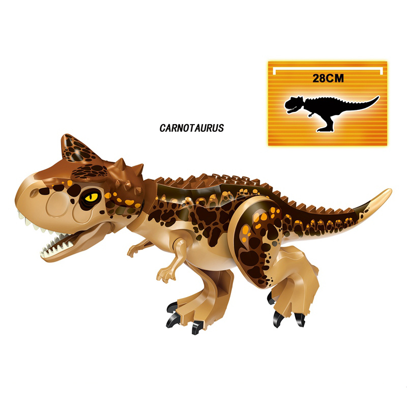 Jurassic World Dinosaurs Building Blocks 4