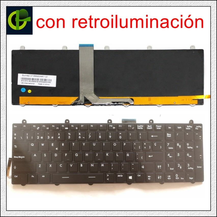 Laptop Keyboard for MSI CX61 2PC 0ND 2OD 0NE 0NF 2PF 2QF 0OD CX70 0NC 2OC 0ND 2OD 0NF 2PF 2QF GP60 2OD GP70 2OD 2PE 2QE 2QF United States US Black Frame
