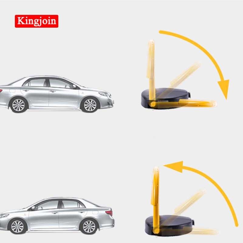 KINGJOIN Car Intelligent Remote Control Parking Lock Thicken Collision Garage Automatic Induction Waterproof Compressive Pressur