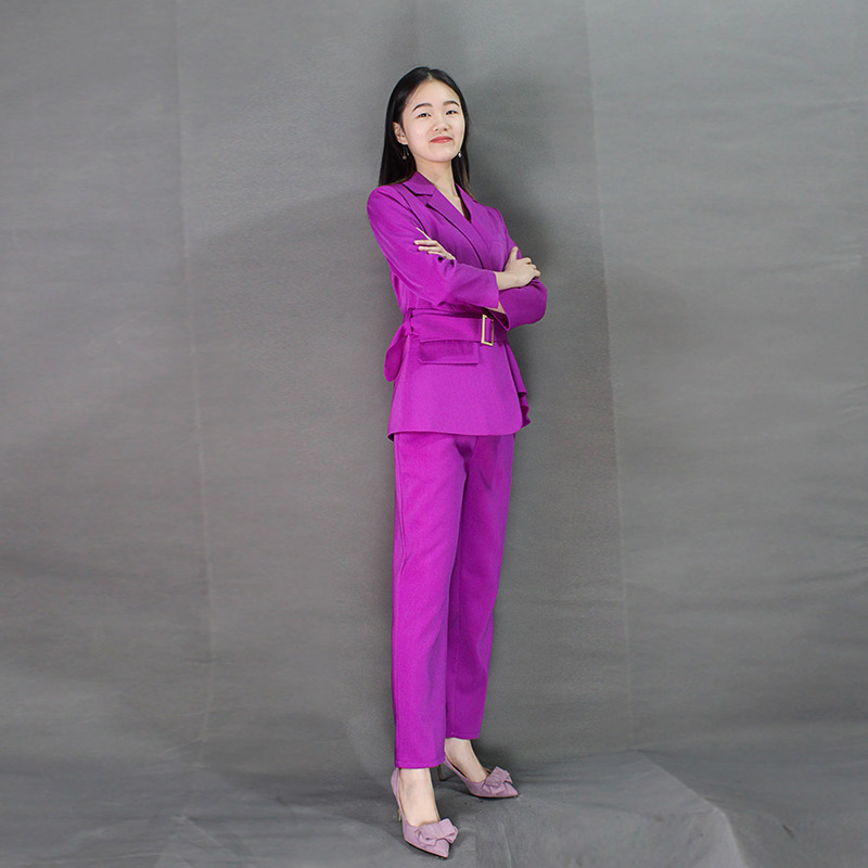 2020 Female Formal Elegant Office Work Wear Uniform Ladies Trousers Blazers Jacket with Tops Pant Suits 2 Pieces Sets Clothes
