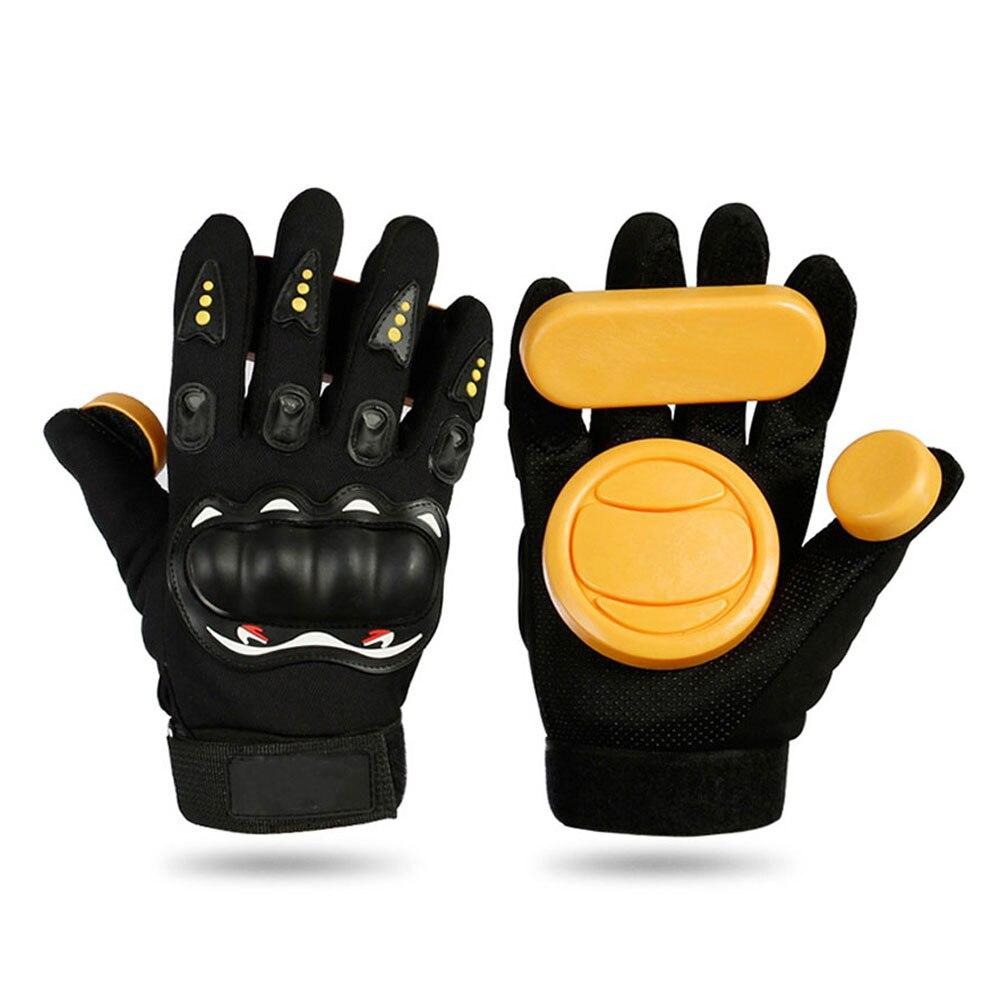 Foam Longboard Protector Skateboard Brake Gloves Skateboard Gloves Slider Armguard Sliding Black Longboard Skateboard Gloves