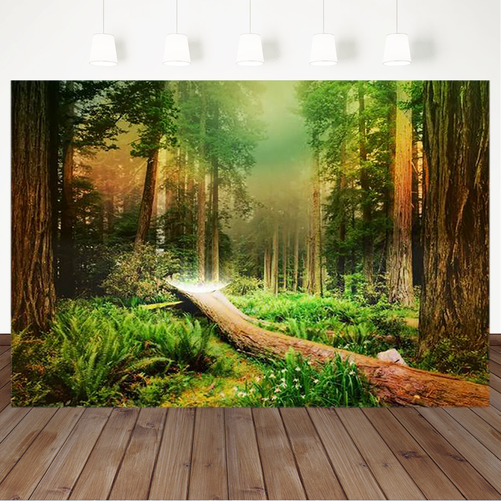 15x10ft Background Forest Manor Photography Backdrop Photo Studio Props LYFU267