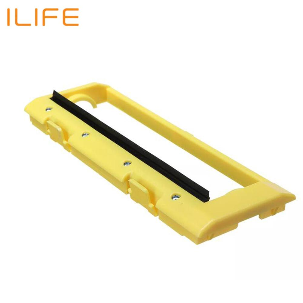 Original Main Roll Middle Brush Cover For ILIFE T4 X430 X432 A4 A4s X431 A40 Polaris Vacuum Robot Cleaner Parts Accessories