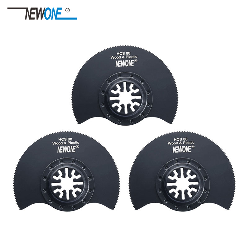 3 Pcs 88mm Flush Segment Oscillating Multi Tool Saw Blades For Renovator Tool For TCH FEIN DREMEL Multimaster,good Price