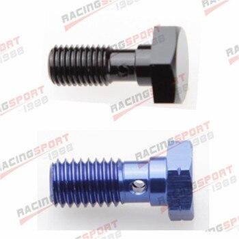 Parafuso Banjo UNF 7/16-liga de Alumínio Banjo Bolts Brake Adaptor 20UNF azul/preto