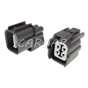 1 Set 4 Pin 6189-0132 6181-0073 HW Sealed Auto Connector Light Lamp Motor Socket For Toyota Camry Honda B-Series O2 Sensor Plug image