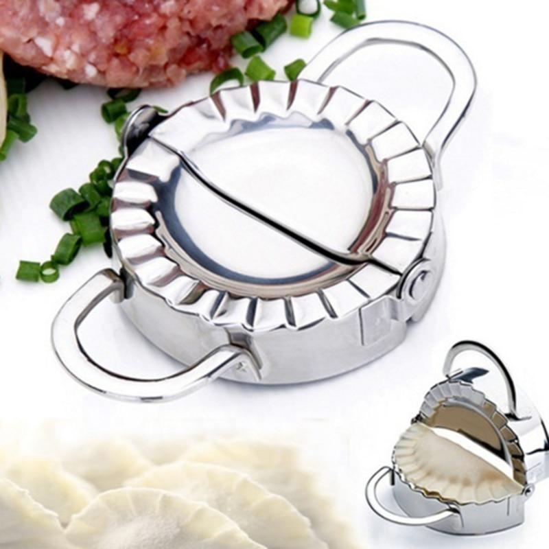 1Pc Dumpling Maker Stainless Steel Dough Cutter Eco Friendly Pie Ravioli Dumpling Mold Dough Press Pastry Accessories