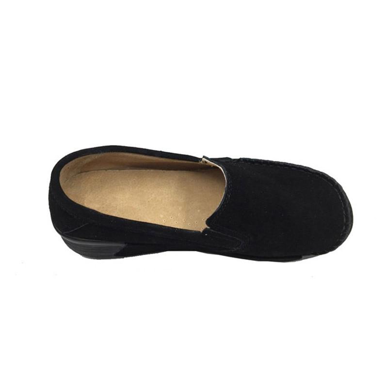 Image 5 - BEYARNEBrand Spring Autumn Loafers Women Flats Fashion Flat Platform Shoes Female Loafers Slip On Womens Ladies ShoesE961Womens Flats   -