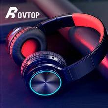 Rovtop Drahtlose Kopfhörer B12 Starke Bass Bluetooth Headset Noise Cancelling Bluetooth Kopfhörer Niedrigen Verzögerung Earbuds für Gaming