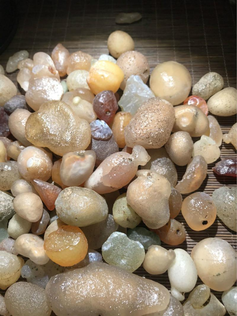 100g natural agate gravel natur stones stone agate in Stones from Home Garden