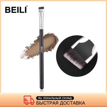 BEILI Black/Pink Eyebrow Makeup Brushes Single Professional Eyeliner Eyelash Concealer Brush Foundation Brushes Make up Tools 1