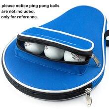 Одна штука ракетки для настольного тенниса летучая мышь сумка