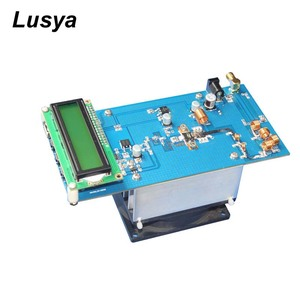 Image 1 - 50W PLL FM Estéreo Transmissor 87.5 M 108 MHz Máximo até 70W LED Digital Portátil de Rádio estação com Ventilador Do Dissipador H4 002