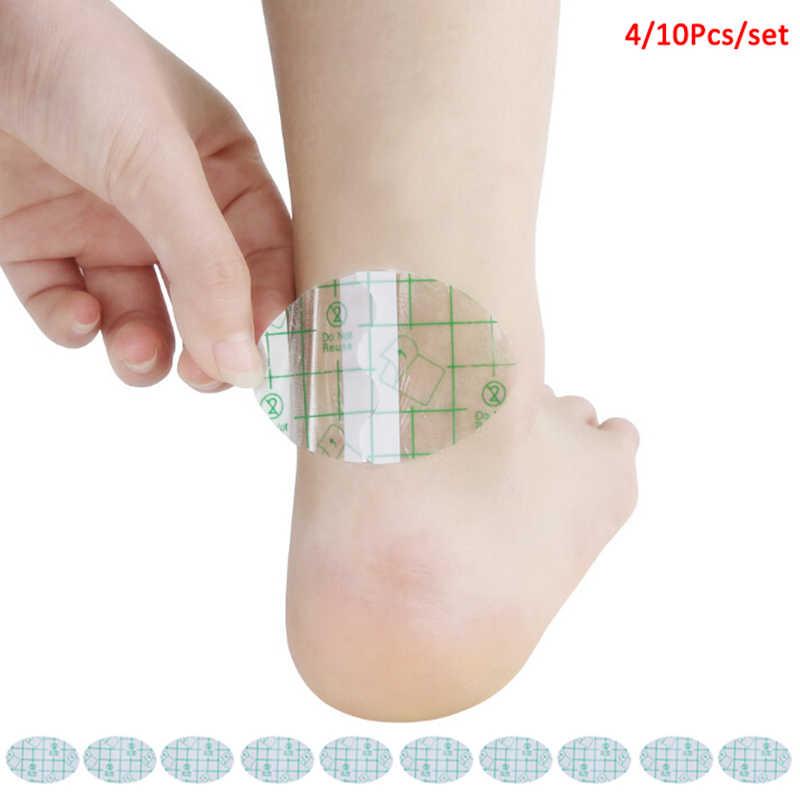 4/10 adet Blister alçı yapıştırıcı hidrokolloid jel Blister alçı anti-aşınma topuk etiket pedikür yama ayak bakımı araçları sıcak