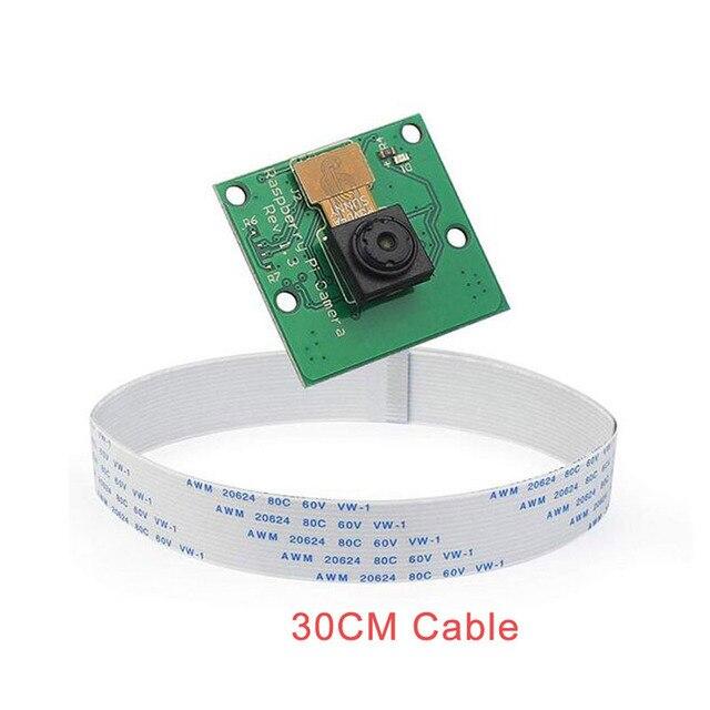 Raspberry Pi 4 Model B + moduł kamery 1080p 720p dla kamery Raspberry pi 5MP kamera wideo z kamerki internetowej dla Raspberry Pi 4 Model B