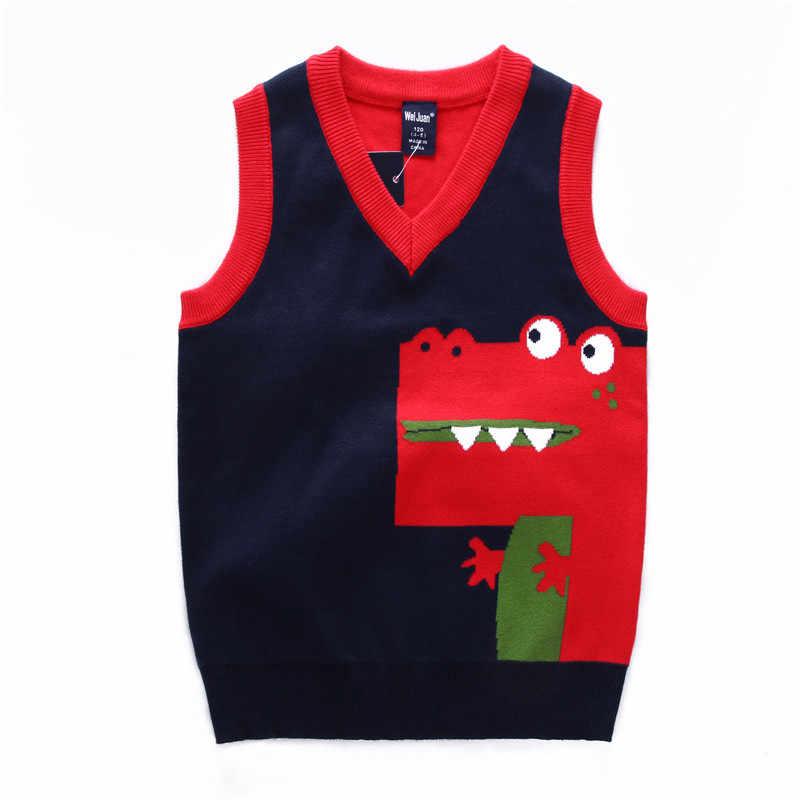 white sleeveless spring. melange knitted vest for boys and girls Children/'s vest