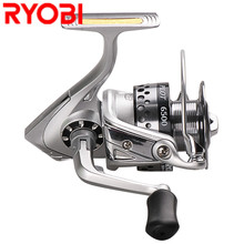 RYOBI 1500 6500 Spinning Fishing Reel 6+1BB 5.1:1 5.0:1 Spinning Coil Carretilha Para Pesca Moulinet Peche Vissen Fishing Tackle