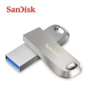 SanDisk USB 3.1 Flash Drive 256GB 128GB 64GB 32GB 16GB CZ74 150MB USB 3.1 Pen Drive Metal U Disk Pendrive Flashdisk for Computer