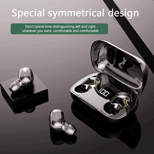 Image 5 - マイク付きワイヤレスステレオヘッドセット,Bluetooth 5.0付きスポーツヘッドセット,充電ボックス付き