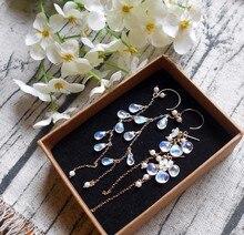 piezas Piedras Preciosas bricolaje artesanías de fabricación de joyas Sunstone redonda granos Melocotón 4mm 90