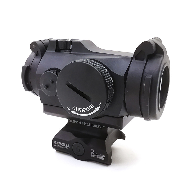 SOTAC-GEAR Tactical Rifescope Sight 2MOA T2 Sight Illuminated Sniper Red Green Dot Sight With Quick Release Red Dot Scope 2