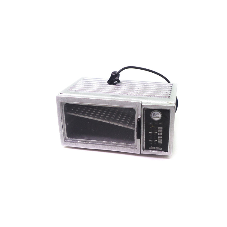 Oven Decoration Miniature Microwave Model-Toy Dollhouse Simulation-Furniture for Life-Scene-Accessories
