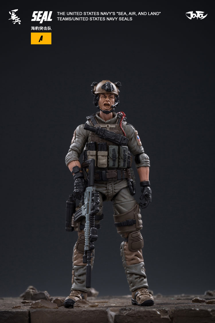 """JoyToy 1//18 Navy/'s /""""Sea,Air,and Land/"""" Teams Navy Seals Action Figures In Stock!!"""