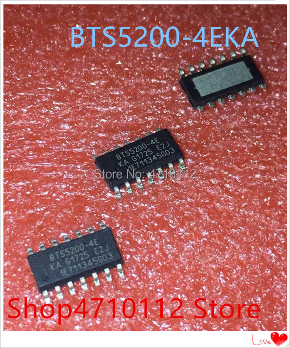 NEW 10PCS/LOT BTS5200-4EKA BTS5200-4E BTS5200 HSOP-14 IC