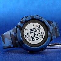Skmei duplo tempo relógios esportivos digitais dos homens 5bar à prova dshockproof água à prova de choque relógios de pulso de hora moda casual reloj hombre 1615 4