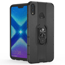 For Honor 8X 8 X Case Armor soft  Cover Finger Ring Holder Phone Huawei Max Durable full Shockproof case
