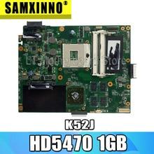 K52JR Laptop Motherboard For ASUS K52J A52J K52JT K52JR K52JU K52JE K52J mainboard test 100% ok HD5470 1GB 8* video memory