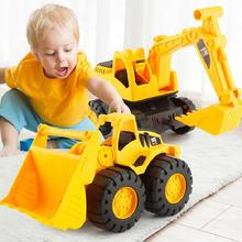 Bulldozer-Suit for Kids Car-Toy Simulation-Truck Vehicle Engineering Excavator Gift Fall