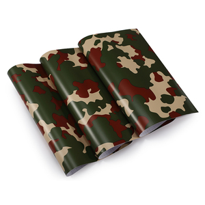 Image 5 - 1.52mx30M Black Grey White Green Red Real Camo Vinyl Car Wrap PVC Adhesive Camouflage Film Stickers For Full Car Wrapping Decals