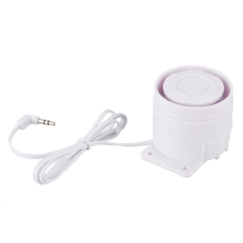 Hot Wired Alarm Siren Horn 120Db Indoor For Home Security Alarm System