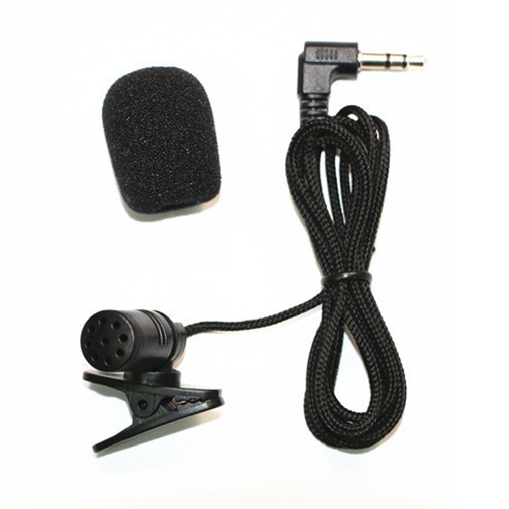 Collar Microphones Phone Microphone 3.5 Mm Jack Hands-free Lapel Mini Wired MIC