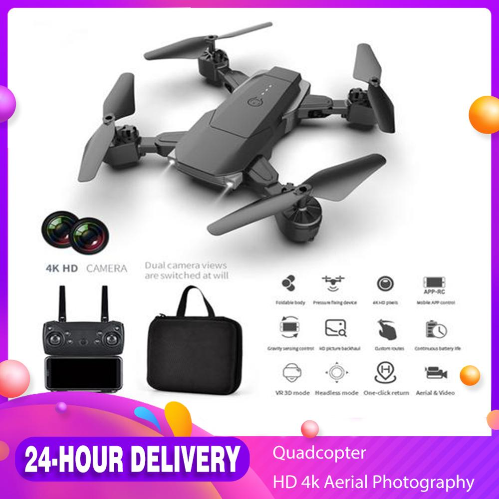 K2 profissional RC Drone Foldable Quadcopter Drone with Dual HD 4K 1080P Camera Altitude Hold Aerial Photography Drone