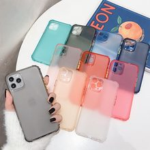Voor Huawei Honor 10i 9 Lite 9X P Smart Pro Nova 6 Se 4 5 3i Plus Telefoon Geval Transparant hybride Candy Kleur Case Clear Back Cover(China)