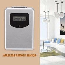 Thermomètre numérique sans fil 433MHz, capteur d'humidité, hygromètre, prévision de la température